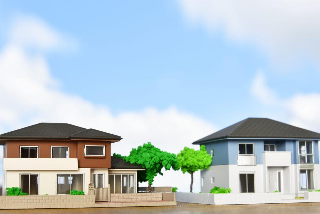 3Dパースの住宅