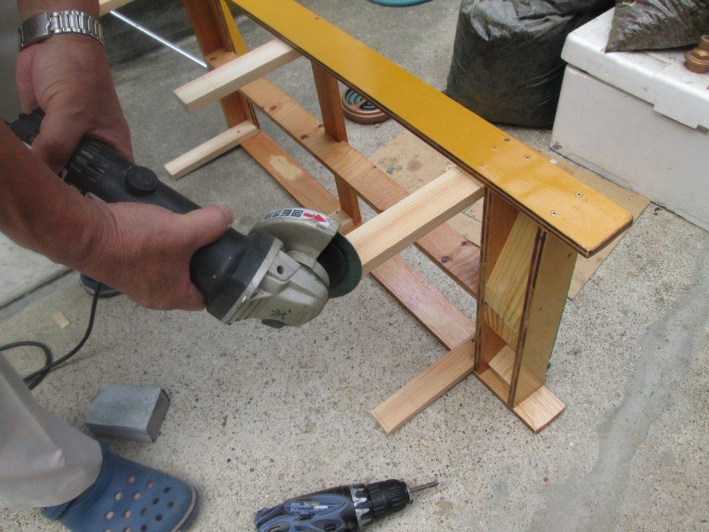 家具製作の様子