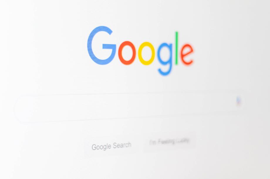 Googleトップページのキャプチャー画像