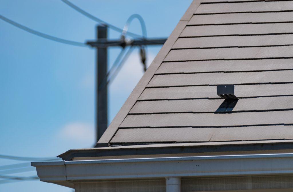 一軒家の屋根