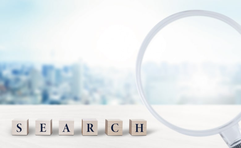 search(街並み・虫眼鏡)